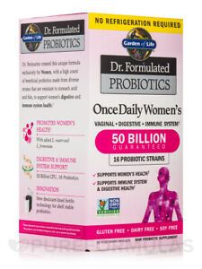 Garden of Life~Dr. Formulated Probiotics Women's 50 Billion + Free Chia& Shipng!