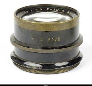 Lens   Zeiss Krauss Paris Tessar 4.5/30cm