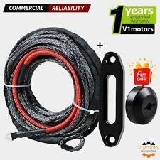 50 X 316 Black Synthetic Winch Cable Rope Hawse Fairlead Stopper Atv Utv