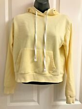 Forever 21 Pale Yellow Pull Over Hoody S