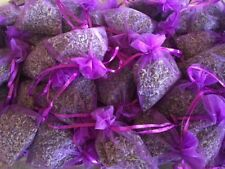 Organically Grown Lavender Sachets - harvested and packaged by hand - 6 sachets