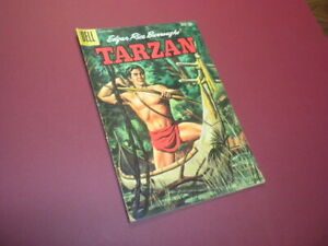 TARZAN OF THE APES #117 Dell Comics 1960 Edgar Rice Burroughs jungle