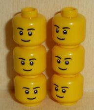 Nº 4501 LEGO 3626cpb0628 Minifig 6 hommes têtes