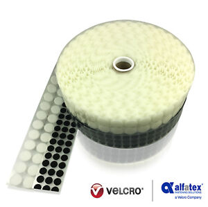 Alfatex® Brand Supplied By Velcro® Brand 13mm 21mm Dots Self Adhesive Coins