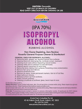 5 LITRE 70% ISOPROPYL RUBBING ALCOHOL ISOPROPANOL DISINFECTANT CLEANER, IPA