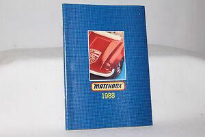 Matchbox Superfast Toys, 1988 Collectors Catalog, Original