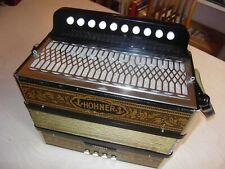 Akkordeon deutsche Harmonika Hohner Terzett Wiener Modell Steirische diatonisch