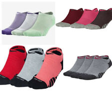 3 X Nike Dry Cushion No Show Women's Training Running Gym  Socks (3 Pair)