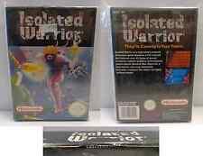 Console NINTENDO Gioco Game NES 8 BIT PAL NES-GP 1991 ISOLATED WARRIOR - Bandai
