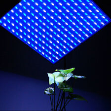 HQRP Blue + White Spectrum 225 LED Hydroponic Plant Grow Light Panel