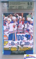 2015/2016 UD Connor McDavid Collection #23 ROOKIE BGS 9.5 GEM MINT Oilers !!