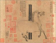 Chinese Art Print: Tang Dynasty Horse - Fine Art Print