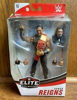 Roman Reigns WWE Mattel Elite Series 79 Action Figure New Wrestler Tribal Chief