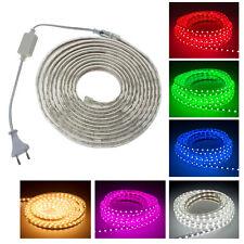 5050 SMD LED Strip Lichtleiste Lichterkette Lichtband Licht Schlauch Streifen
