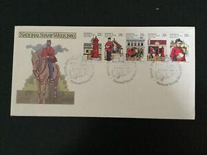 AUSTRALIA 1980 National Stamp Week FDC, Darwin Special Postmark(E326)