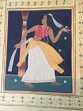 Indian Miniature Painting - Hand-signed, c20th Century