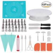 Cake Cupcake Decorating Tool 49 Sets Professional Supply DIY Baking Supplies Kit