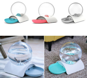 Automatic Fountain Bubble Cat Water Drinking Dispenser Bowl Pet Accessories Tool