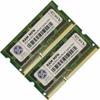 Memory Ram 4 Asus Barebones Laptop V6-P5G41E 2x Lot DDR3 SDRAM