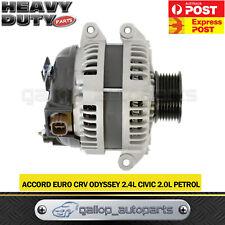 Alternator for Honda Accord Euro engine F24A3 LEV 2.4L Petrol K24A4 K24A8 03-07