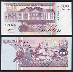 Suriname 100 gulden 1998 FDS/UNC  A-02