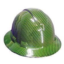 Green Carbon Fiber Pyramex Ridgeline Hard Hat