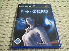 Project Zero für Playstation 2 PS2 PS 2 *OVP*