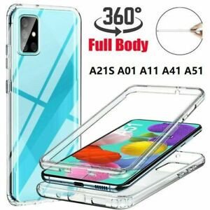 360 Shockproof Silicone Case For Samsung A01,A11,A21,A21S,A31,A41,A51,A71,A10