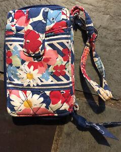 Vera Bradley Summer Cottage Pattern Wristlet Wallet