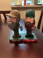 2013 Duck Dynasty Funko Wacky Wobbler Bobbleheads Lot of 2 Uncle Si and Jase