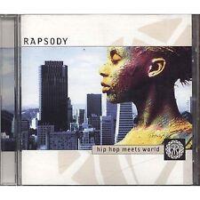 Rapsody - Hip Hop meets world ANGELIQUE KIDJO AMINA CD 2000 NEAR MINT CONDITION
