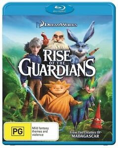 Rise Of The Guardians : NEW Blu-Ray