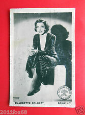 figurines actors figurine cigarettes cards cia tabacos L 7 claudette colbert d v