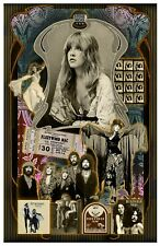 "Stevie Nicks -11x17"" poster - Vivid Colors!  (signed by artist)"