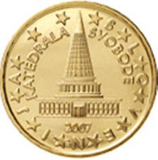 SLOVENIJA SLOVENIA SLOVENIE SLOWENIEN - 2007 - 0,10 EURO = 10 cent UNC from roll