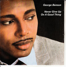 "GEORGE BENSON  Never Give Up On A Good Thing PICTURE SLEEVE 7"" 45 rpm record NEW"