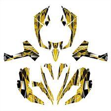 Can am RENEGADE 800 800R 800X graphics custom deco kit #2001 Yellow