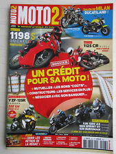 MOTO 2 N° 223 /DUCATI 1198 S,STREET FIGHTER/YAM'XJ6 NAKED/BUELL 1125 CR/YZF 125