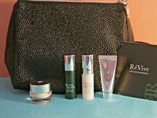 ReVeve,  SKIN CARE, SAKS 4 PIECE DELUXE SAMPLES, AND A FREE MAKE-UP BAG. NEW ❤