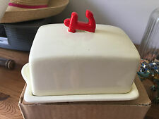 Vintage Retro Anchor Butter Dish 2005 Kitchen Collectable