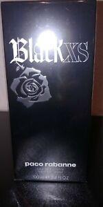 Paco Rabanne Black XS EDT Eau de Toilette Spray 100 ml neu in Folie selten top