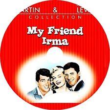 My Friend Irma DVD Dean Martin Jerry Lewis Marie Wilson Diana Lynn 1949 V Rare