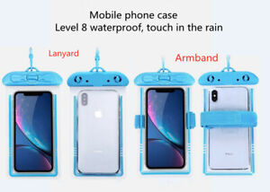 Phone case waterproof bag, touch screen, rainproof, transparent and dustproof