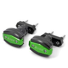 Motorcycle Crash Pad Protectors For KAWASAKI Z750 07-12 Z750R Frame Slider Green