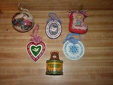 Christmas ornaments Precious Moments, Resin, Crayola Crayon , Doves