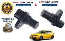 FOR SUBARU IMPREZA 2.5 WRX TURBO 2007-> LEFT & RIGHT HAND LOWER CAMSHAFT SENSOR