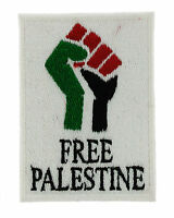 FREE PALESTINE PALESTINIAN FLAG PATCH patches backpack BADGE IRON ON EMBROIDERED