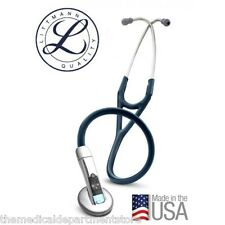 "3M Littmann 3200 Electronic 27"" Stethoscope (w/ Ambient Noise Reduction) BLUE"
