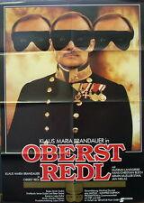 Klaus Maria Brandauer OBERST REDL original Kino Plakat A1