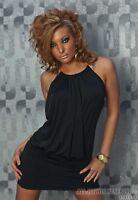 Clubbing Mini Dress Halterneck Backless Bodycon Dress Evening Party Club Dress